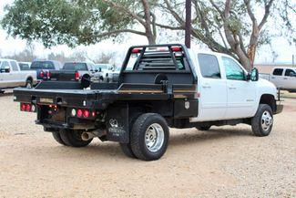 2011 Chevrolet Silverado 3500 HD DRW LTZ Crew Cab 4X4 6.6L Duramax Diesel Auto Cannonball Bale Bed Sealy, Texas 11