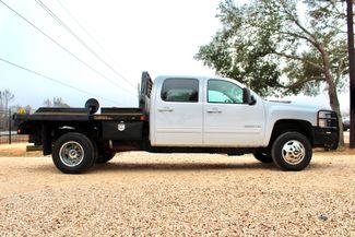 2011 Chevrolet Silverado 3500 HD DRW LTZ Crew Cab 4X4 6.6L Duramax Diesel Auto Cannonball Bale Bed Sealy, Texas 12