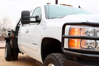 2011 Chevrolet Silverado 3500 HD DRW LTZ Crew Cab 4X4 6.6L Duramax Diesel Auto Cannonball Bale Bed Sealy, Texas 2