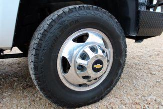 2011 Chevrolet Silverado 3500 HD DRW LTZ Crew Cab 4X4 6.6L Duramax Diesel Auto Cannonball Bale Bed Sealy, Texas 26
