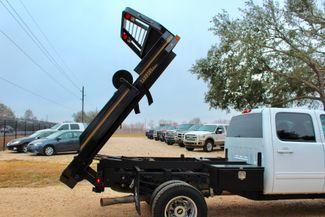 2011 Chevrolet Silverado 3500 HD DRW LTZ Crew Cab 4X4 6.6L Duramax Diesel Auto Cannonball Bale Bed Sealy, Texas 18