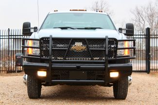 2011 Chevrolet Silverado 3500 HD DRW LTZ Crew Cab 4X4 6.6L Duramax Diesel Auto Cannonball Bale Bed Sealy, Texas 3