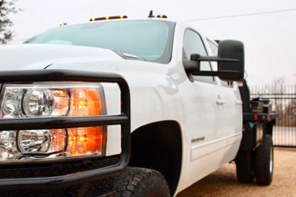 2011 Chevrolet Silverado 3500 HD DRW LTZ Crew Cab 4X4 6.6L Duramax Diesel Auto Cannonball Bale Bed Sealy, Texas 4