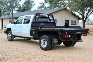 2011 Chevrolet Silverado 3500 HD DRW LTZ Crew Cab 4X4 6.6L Duramax Diesel Auto Cannonball Bale Bed Sealy, Texas 7