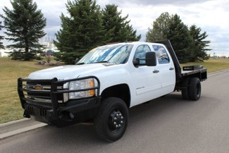 2011 Chevrolet Silverado 3500HD LT Crew Cab Flat Bed Great Falls, Montana
