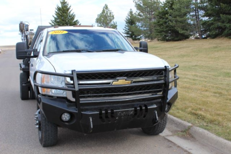 2011 Chevrolet Silverado 3500HD LT Crew Cab Flat Bed  city MT  Bleskin Motor Company   in Great Falls, MT