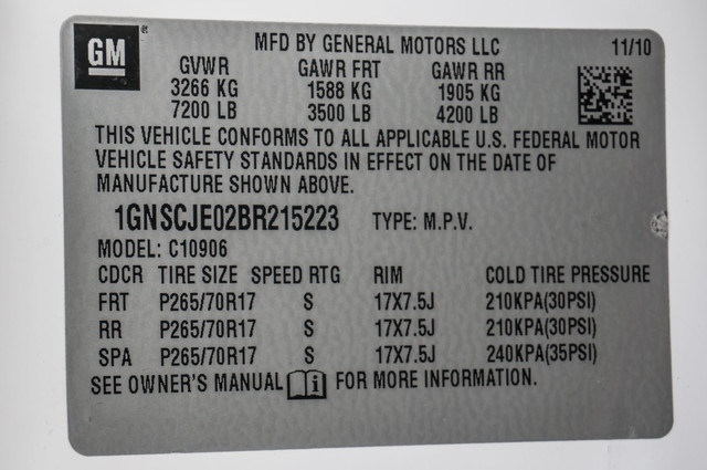 2011 Chevrolet Suburban LT - LTHR - 113K MILES - 3RD ROW - TOW PKG Reseda, CA 32
