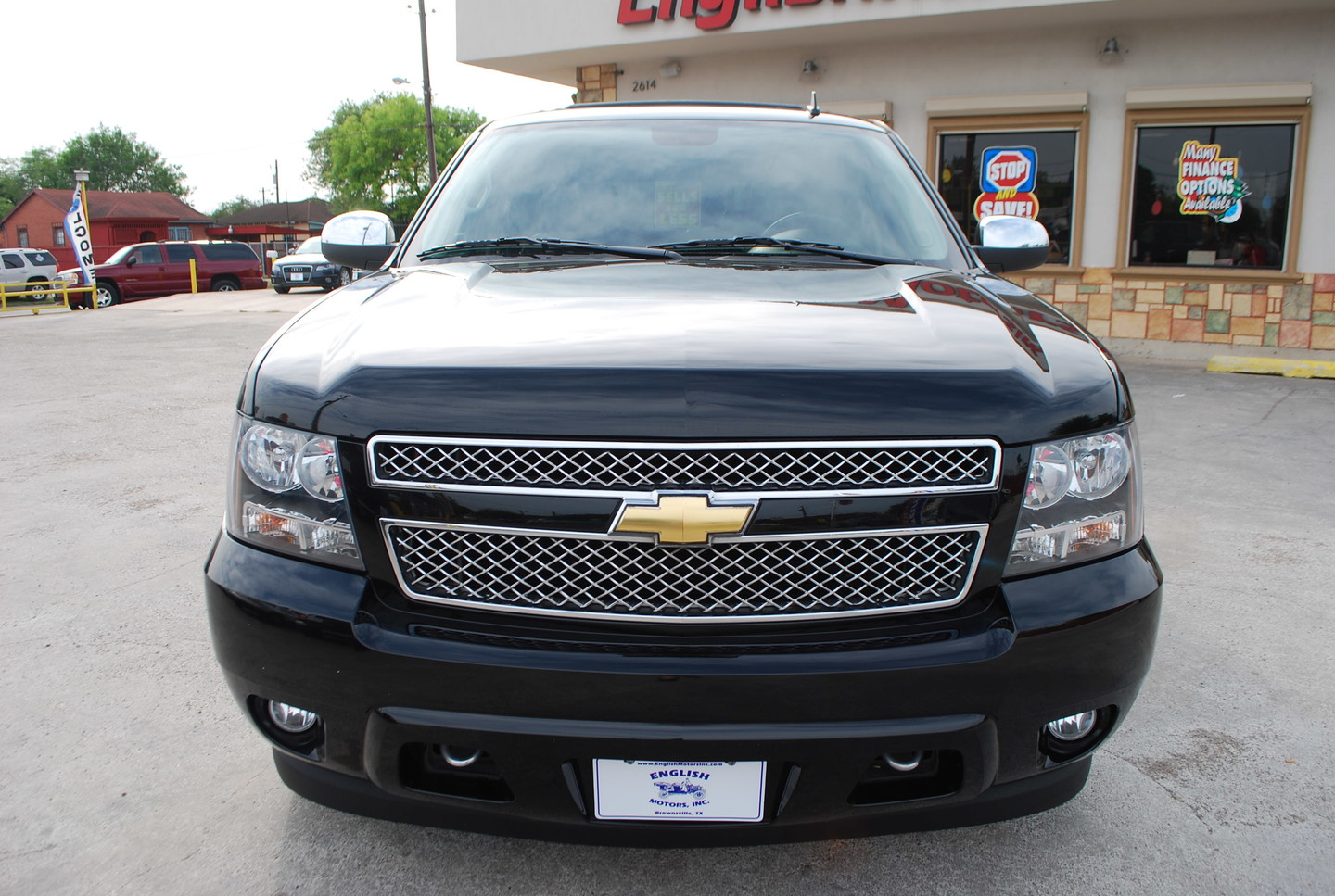 2011 chevrolet tahoe ltz brownsville tx english motors. Black Bedroom Furniture Sets. Home Design Ideas