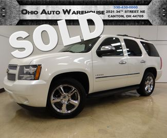 2011 Chevrolet Tahoe LTZ 4x4 Navi Tv/DVD Sunroof Cln Carfax We Finance | Canton, Ohio | Ohio Auto Warehouse LLC in  Ohio
