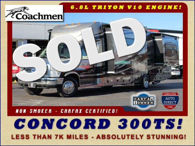 2011 Coachmen Concord 300 TS - LESS THAN 7K MILES! Mooresville , NC 0