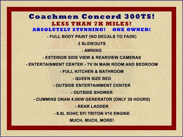 2011 Coachmen Concord 300 TS - LESS THAN 7K MILES! Mooresville , NC 1