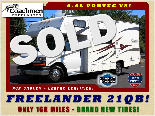 2011 Coachmen Freelander 21QB - ONLY 16K MILES  - BRAND NEW TIRES! Mooresville , NC 0