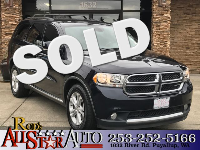 2011 Dodge Durango Crew The CARFAX Buy Back Guarantee that comes with this vehicle means that you