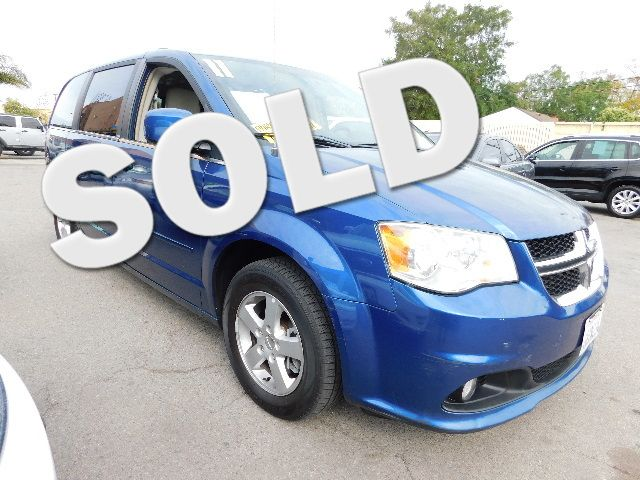 2011 Dodge Grand Caravan Crew Limited warranty included to assure your worry-free purchase AutoCh