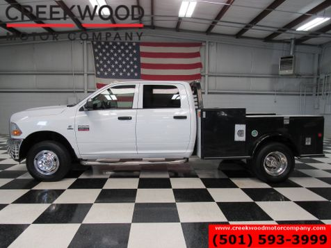 2011 Dodge Ram 3500 ST SLT 4x4 Diesel Dually Service Utility Flatbed in Searcy, AR