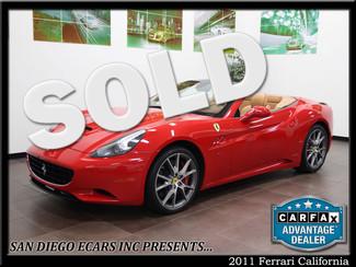 2011 Ferrari California San Diego, California
