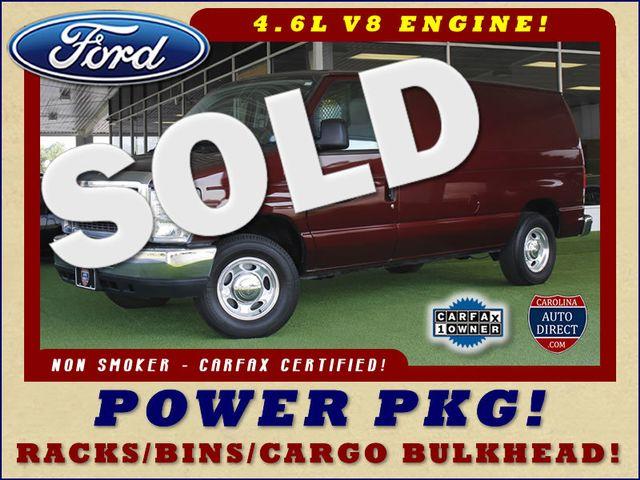 2011 Ford E-Series Cargo Van Commercial E-150 - POWER PKG - RACKS/BINS! Mooresville , NC 0