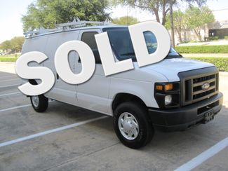 2011 Ford E-250 Cargo Van, Racks/Bins/ Ladder rack, 1 Owner, Like New Plano, Texas