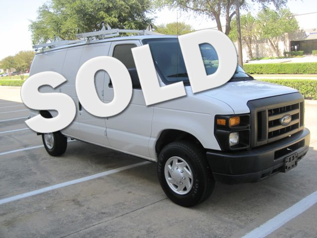 2011 Ford E-250 Cargo Van, Racks/Bins/ Ladder rack, 1 Owner, Like New Plano, Texas 0