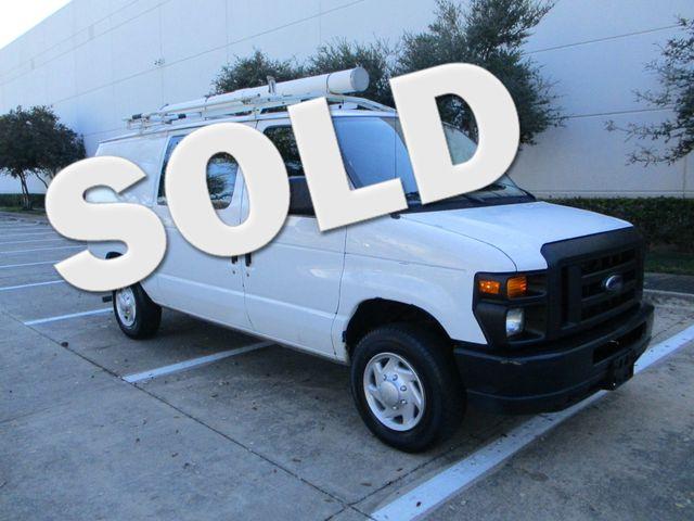 2011 Ford E-Series Cargo Van Bins & Bulkhead Plano, Texas 0