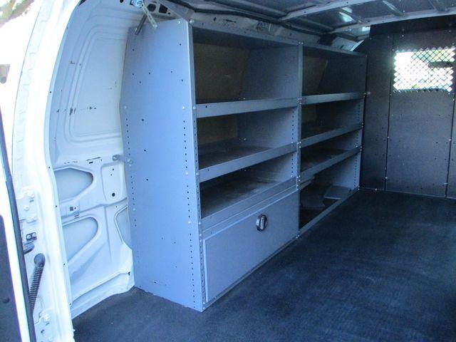 2011 Ford E-Series Cargo Van Bins & Bulkhead Plano, Texas 16