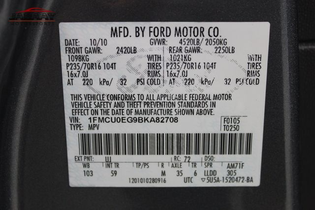 2011 Ford Escape Limited Merrillville, Indiana 46