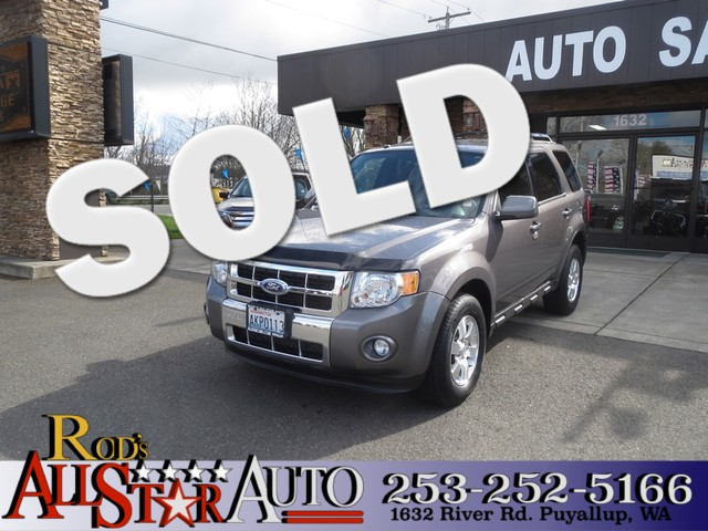 2011 Ford Escape Limited AWD The CARFAX Buy Back Guarantee that comes with this vehicle means that