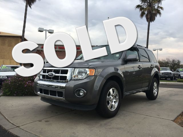 2011 Ford Escape Limited Youll enjoy the benefits of good gas mileage and a smooth ride with this