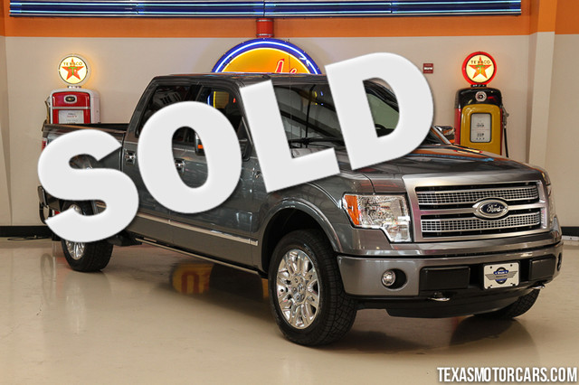 2011 Ford F-150 Platinum This 2011 Ford F-150 Platinum is in great shape with only 66 968 miles
