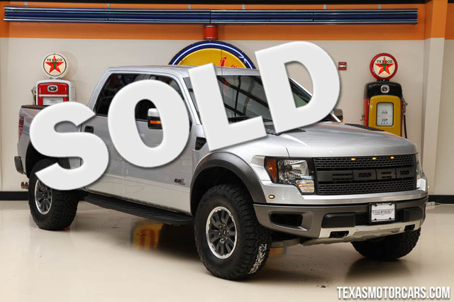 2011 Ford F-150 SVT Raptor This Carfax 1-Owner 2011 Ford F-150 SVT Raptor is in great shape with o