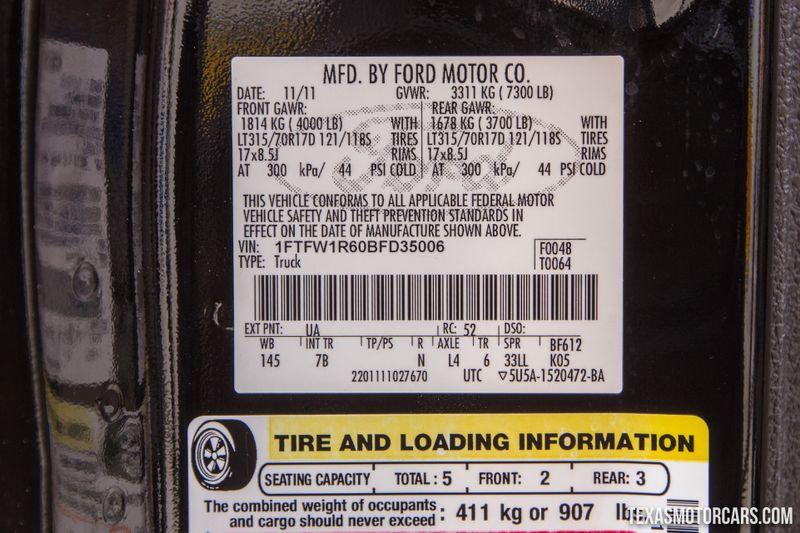 2011 Ford F-150 SVT Raptor 4x4  in Addison, Texas