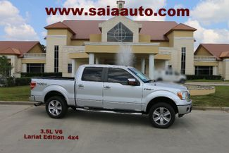 2011 Ford F 150  Crew Lariat 4wd V6 Ecoboost NAVI ROOF TOW PKG LEVELED ON 33S CLEAN CARFAX SERVICED DETAILED READY TO GEAUX | Baton Rouge , Louisiana | Saia Auto Consultants LLC-[ 4 ]