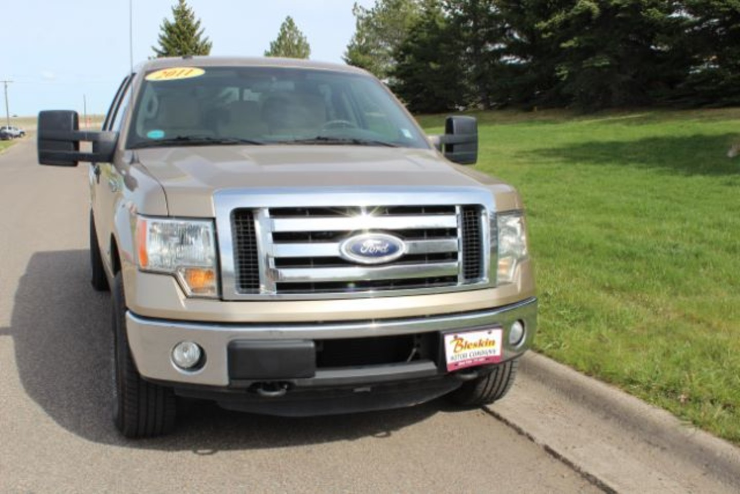 2011 Ford F 150 Xl Supercrew 55 Ft Bed 4wd City Mt Bleskin