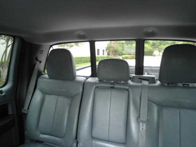 2011 Ford F-150 Platinum Crew Cab Plano, Texas 19