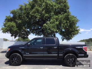 2011 Ford F150 Crew Cab Platinum 3.5L V6 EcoBoost 4X4 | American Auto Brokers San Antonio, TX in San Antonio Texas