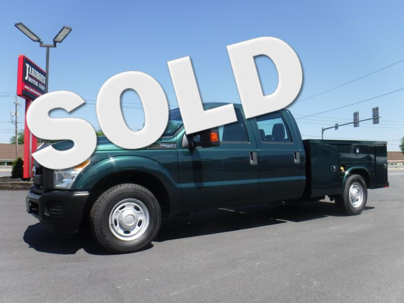 2011 Ford F250 Crew Cab 2wd with New 8' Knapheide Utility Bed in Ephrata PA