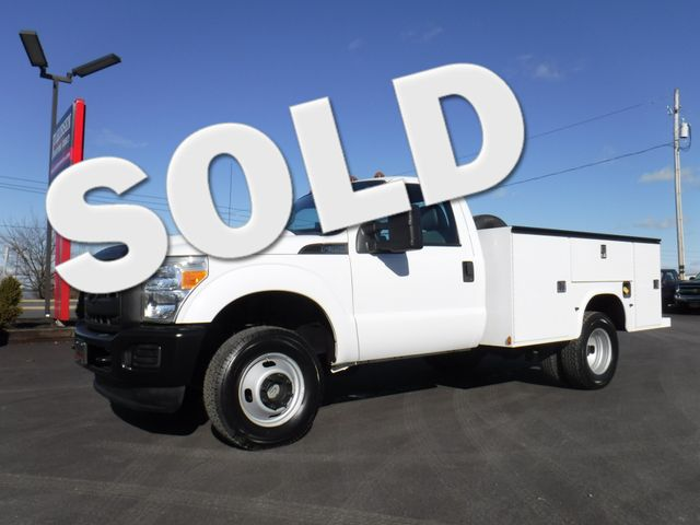 2011 Ford F350  9FT Utility 4x4 in Ephrata PA