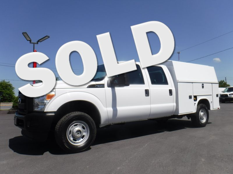 2011 Ford F350 Crew 4x4 with New 8' Knapheide Enclosed Utility in Ephrata PA
