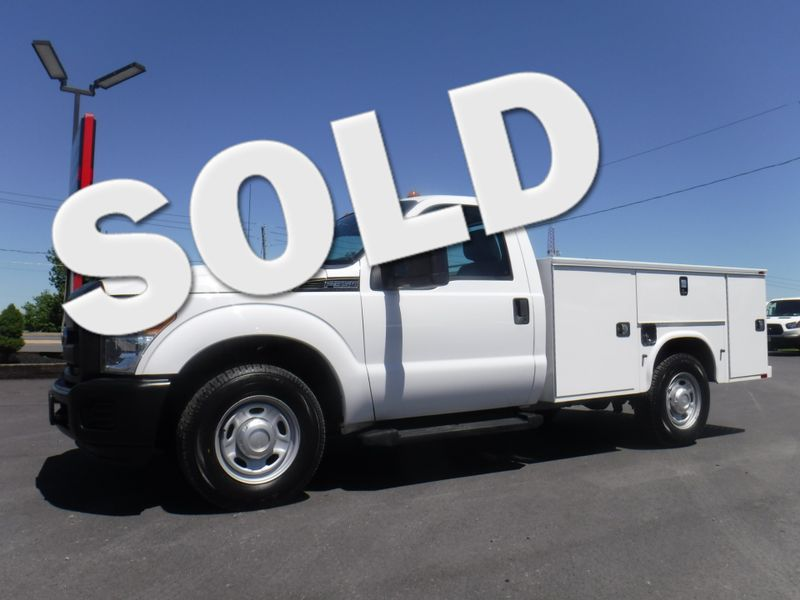 2011 Ford F350 2wd Regular Cab with New 9' Knapheide Utility Bed in Ephrata PA