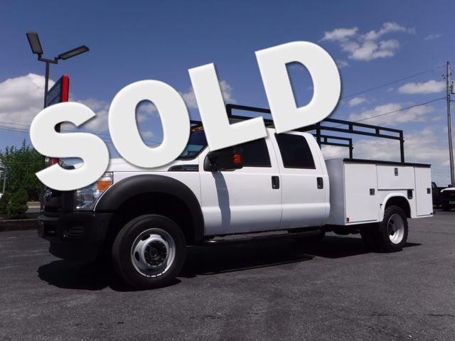 2011 Ford F450 Crew Cab 9FT Utility 4x4 in Ephrata PA