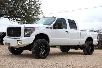 2011 Ford Super Duty F-250 Lariat Crew Cab FX4 4X4 6.7L Powerstroke Diesel Auto LIFTED LOADED Sealy, Texas 5