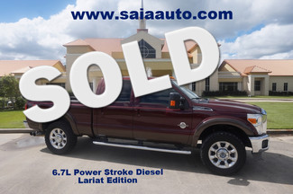 2011 Ford  F250 Lariat 4wd Fx4 Pkg Navi Roof Back Up Camera Htd AC Seats 35s on 20s