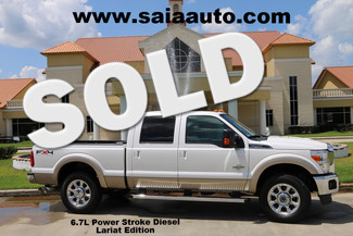 2011 Ford F250 Crew Cab Lariat 4wd 6.7 Diesel FX4 Navi Roof Bed Cover Loaded in Baton Rouge  Louisiana