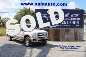 2011 Ford Super Duty F 250 Crew Cab King Ranch Diesel Navi Roof FX4 20s  in Baton Rouge  Louisiana