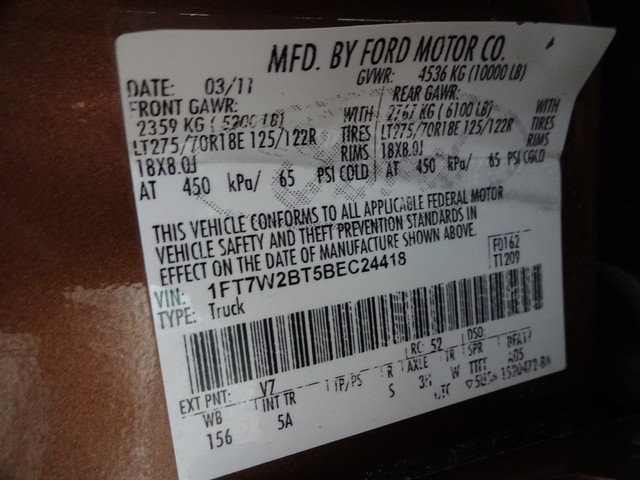 2011 Ford Super Duty F-250 Pickup Lariat Corpus Christi, Texas 50