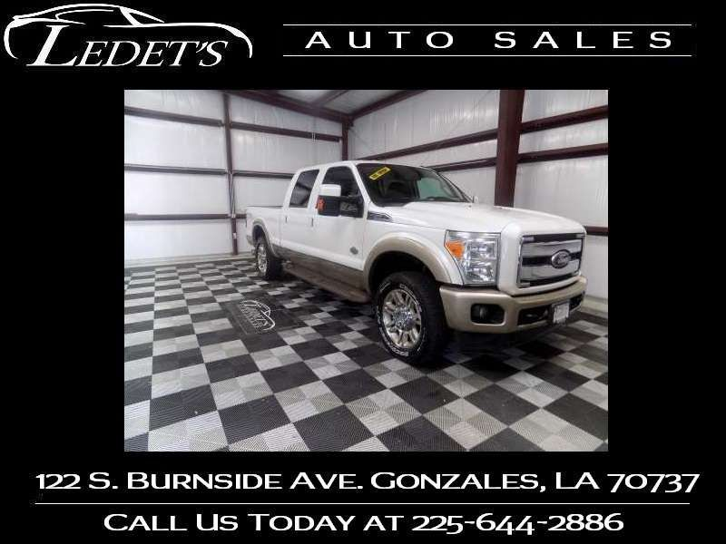 2011 Ford Super Duty F-250 Pickup King Ranch - Ledet's Auto Sales Gonzales_state_zip in Gonzales Louisiana