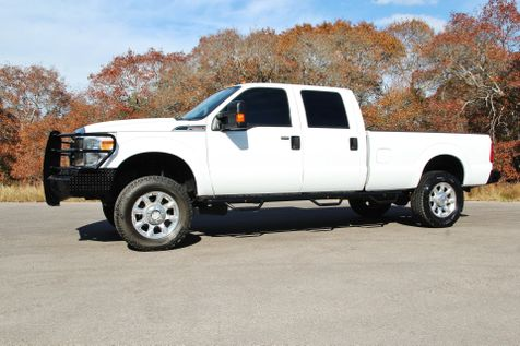 2011 Ford Super Duty F-250 XLT - 4x4 - LEATHER - LIFTED in Liberty Hill , TX