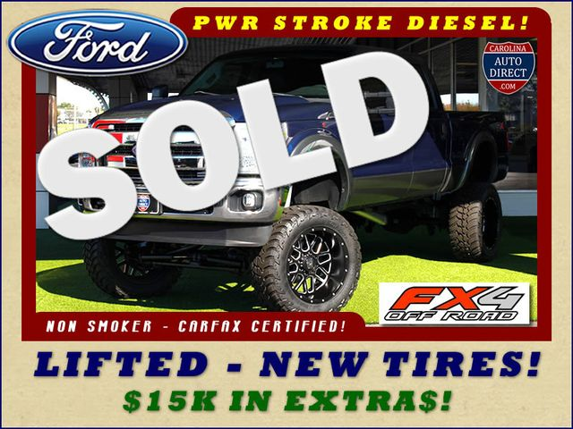 2011 Ford Super Duty F-250 Pickup XLT Crew Cab 4x4 FX4 - LIFTED - $15K IN EXTRA$! Mooresville , NC 0
