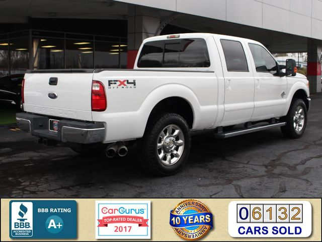 2011 Ford Super Duty F-250 Pickup Lariat Crew Cab 4x4 FX4 - HEATED/COOLED LEATHER! Mooresville , NC 2