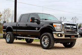 2011 Ford Super Duty F-250 Lariat Crew Cab FX4 4X4 6.7L Powerstroke Diesel Auto LIFTED Sealy, Texas 1